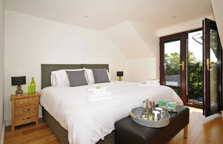 Aberffraw holiday cottage - bedroom