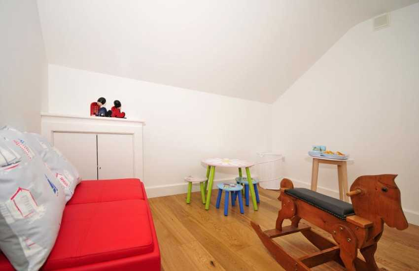 Family friendly holiday cottage Anglesey - play room