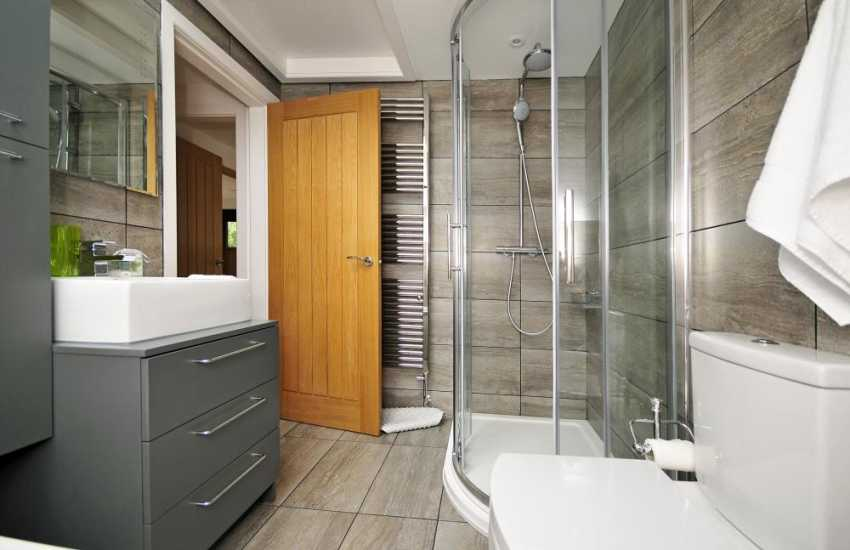 Pet free cottage North Wales - bathroom