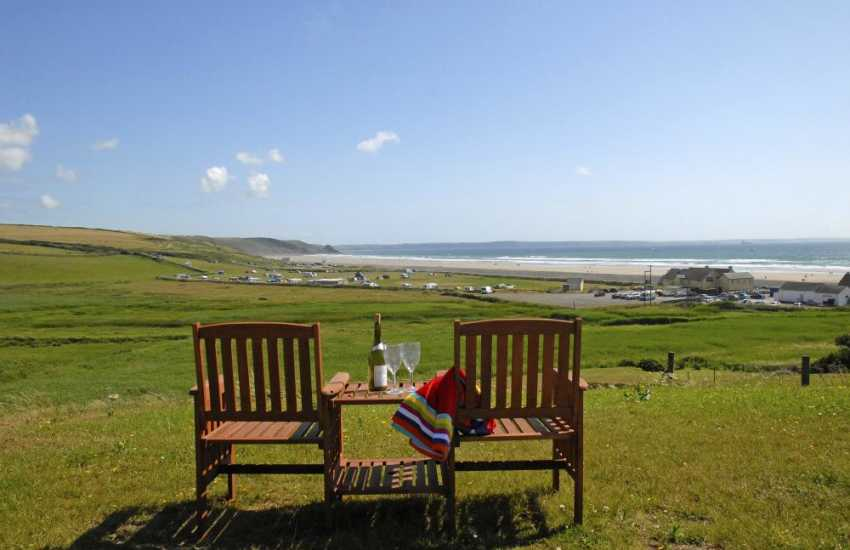 Newgale Sands holiday home with stunning coastal views