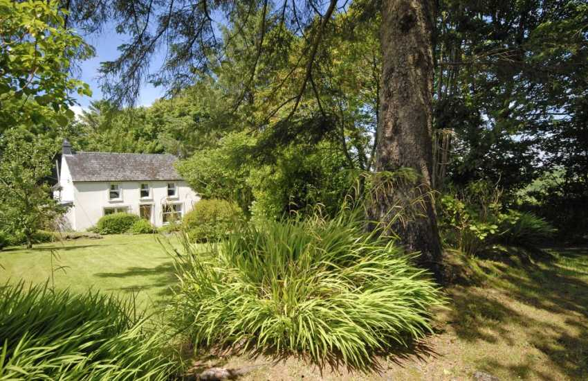 St Brides Bay holiday home with private gardens