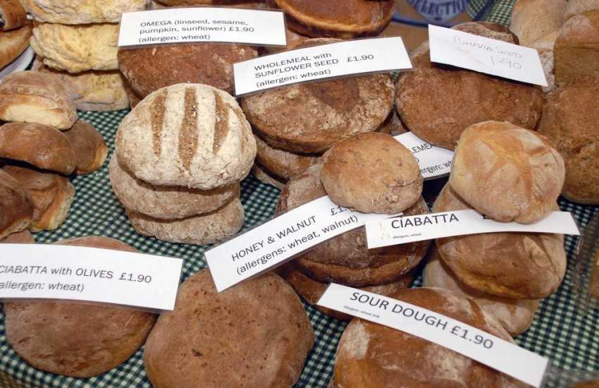 Fishguard Farmers' Market is held every Saturday morning - lots of lovely fresh produce on sale