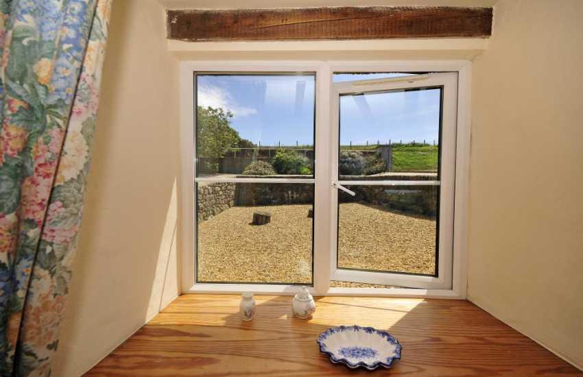North Wales coast cottage - bedroom