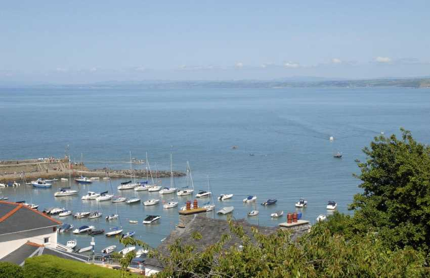 Enjoy fabulous views over Cardigan Bay from almost every room in the house
