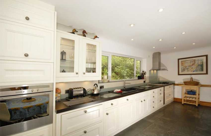 Modern luxury fully fitted kitchen
