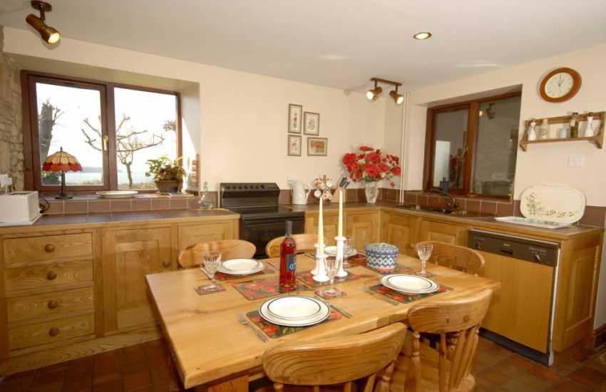 Pembrokeshire cottage kitchen