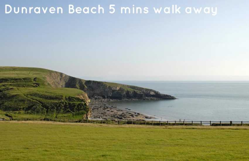 Enjoy fabulous views over the Glamorgan Heritage Coast from the grounds of the Dunraven Estate