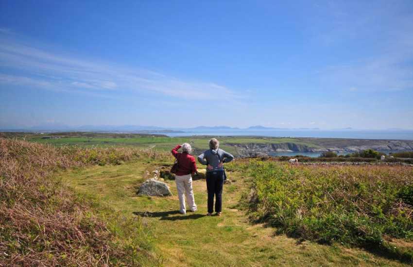 Views from South Stack across to Pen Llyn (Llyn Peninsula)