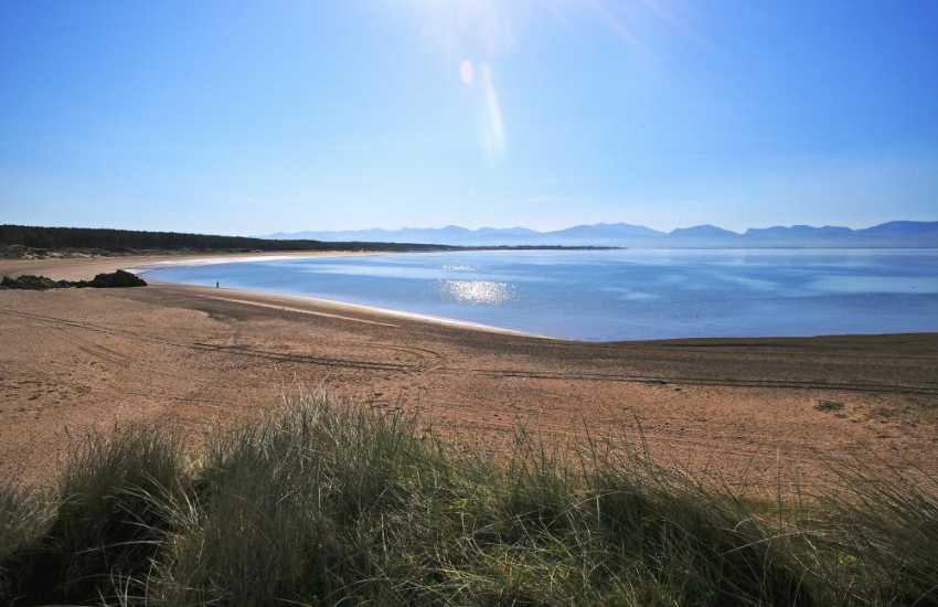 Newborough beach Anglesey, one of Britain's finest beaches