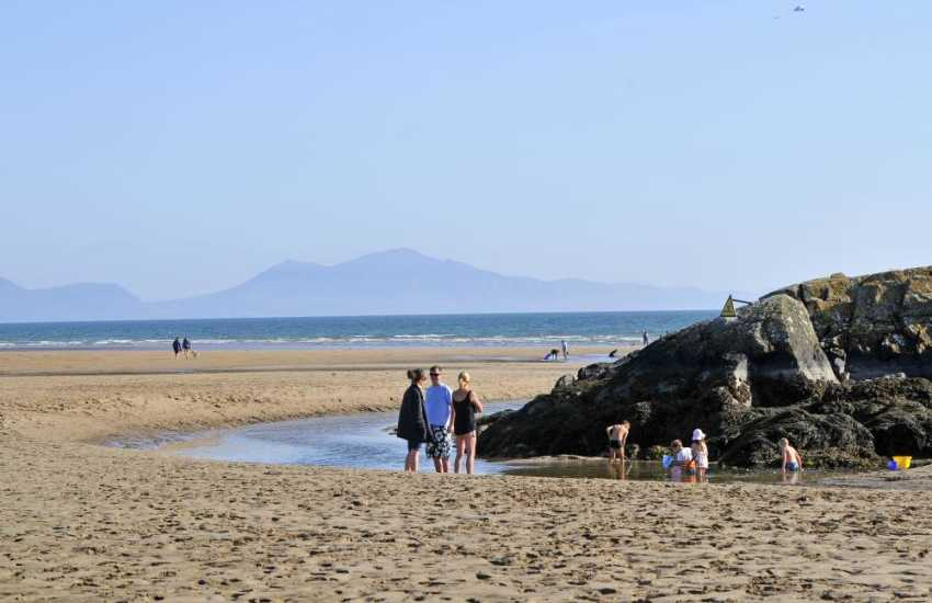 Aberffraw stunning sandy beach, well over half a mile long. Sand dunes, clean flat sand, ideal for bathing, access is across the common and through the dunes.
