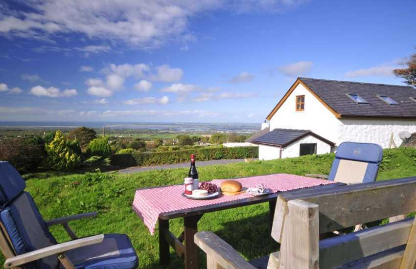 Cottage Views of Llanddwyn Island  - garden