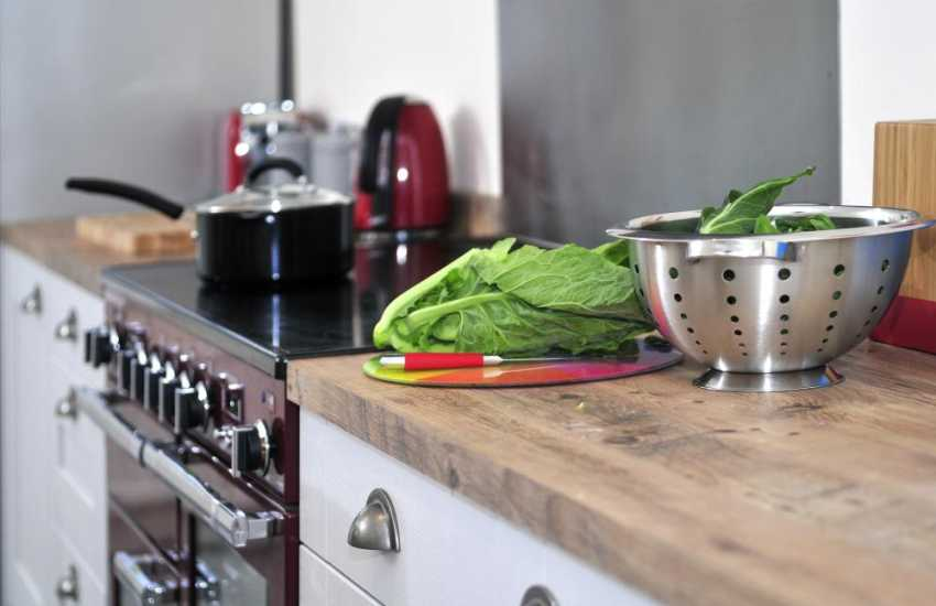 North Wales holiday cottage pet friendly - kitchen