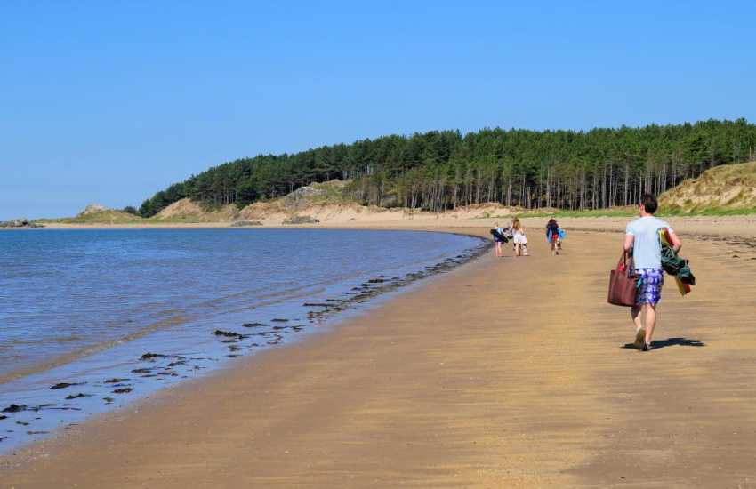 Newborough Warren beach, breathtaking all year round