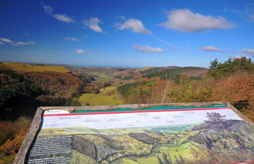 Cambrian coastal views from Bwlch Nant yr Arian