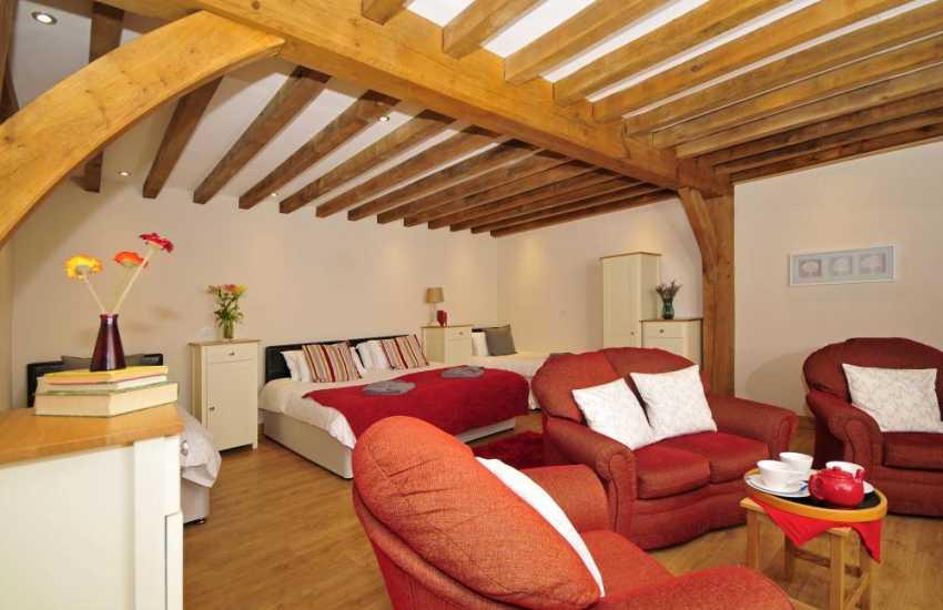 Devils Bridge Holiday house - bedroom