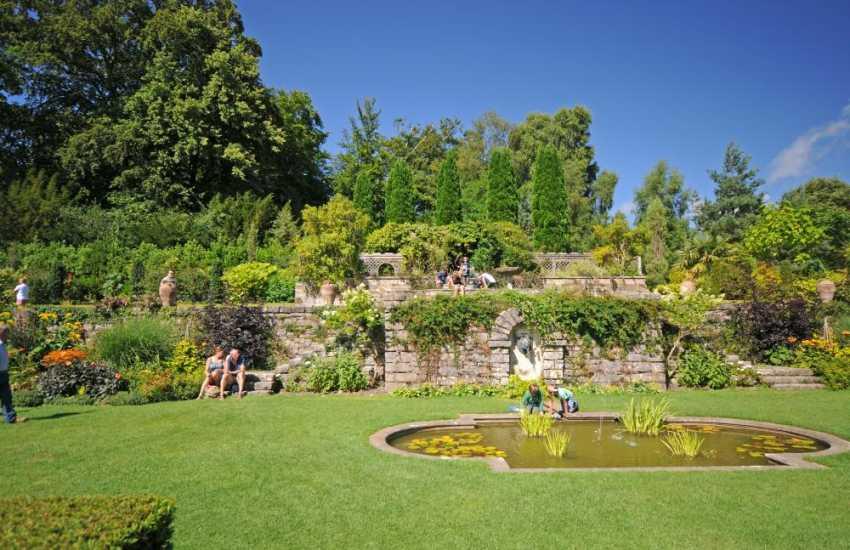 Plas Newydd (NT) Gardens on the Menai Strait