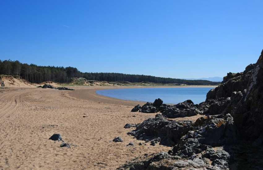 Newborough beach Anglesey