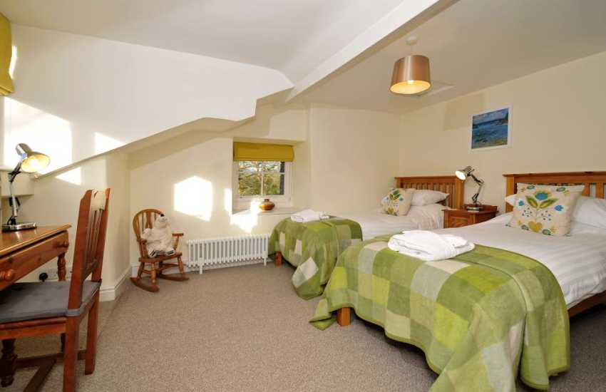 Large holiday house Wales - bedroom