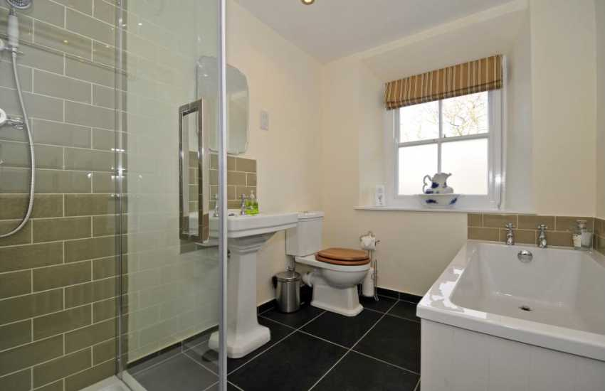 North Wales coastal cottage - bathroom