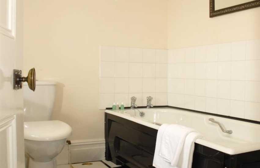 Carmarthenshire family home - master en-suite bathroom
