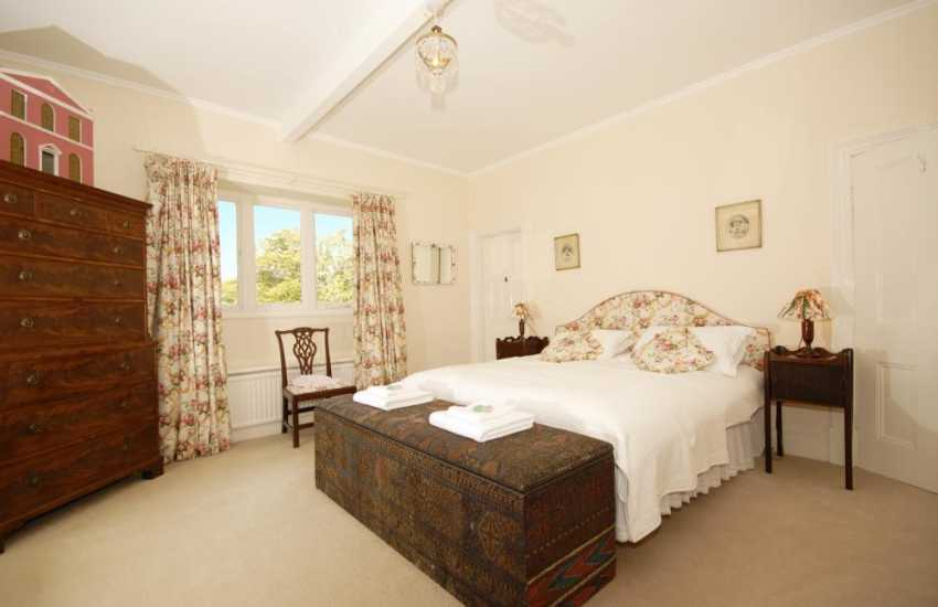 Country family home in Carmarthenshire - master en-suite double bedroom