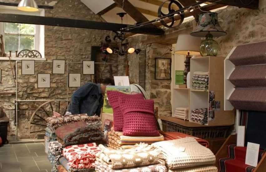 Visit Solva Woollen Mill for beautifully crafted Welsh products