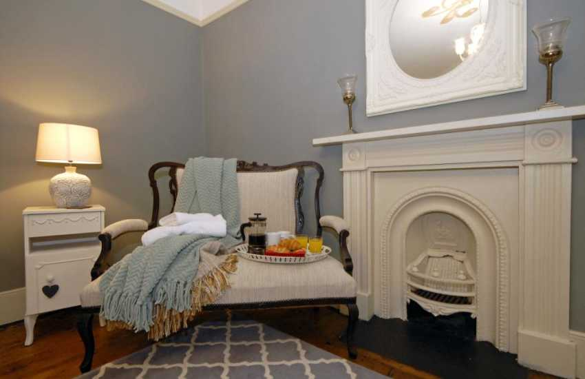 Relax with breakfast in the super king size bedroom