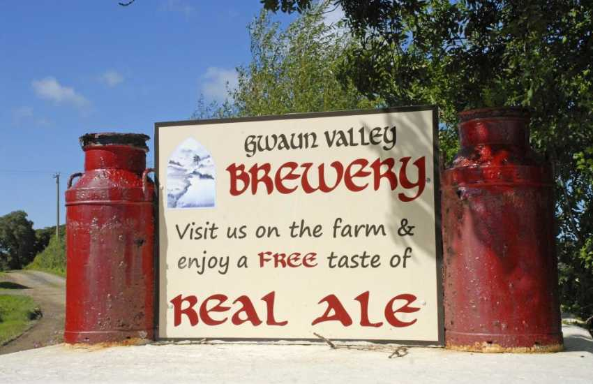 The Gwaun Valley Brewery - enjoy a pint of freshly brewed beer up in the wild Preselli Hills