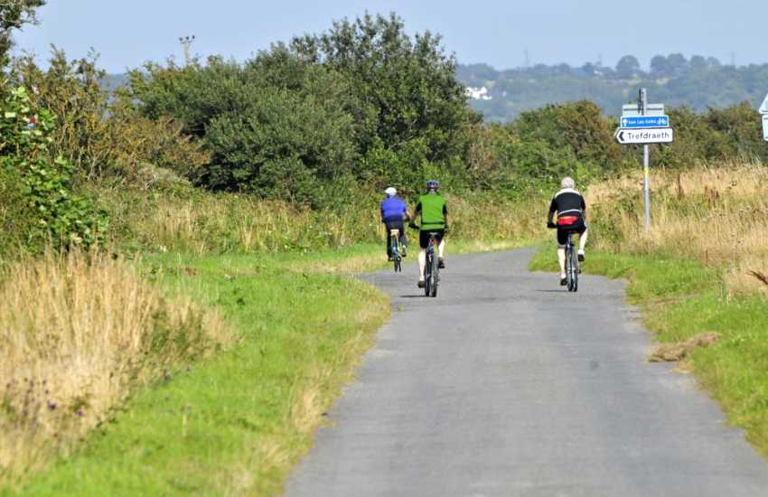 Anglesey has some great cycle routes
