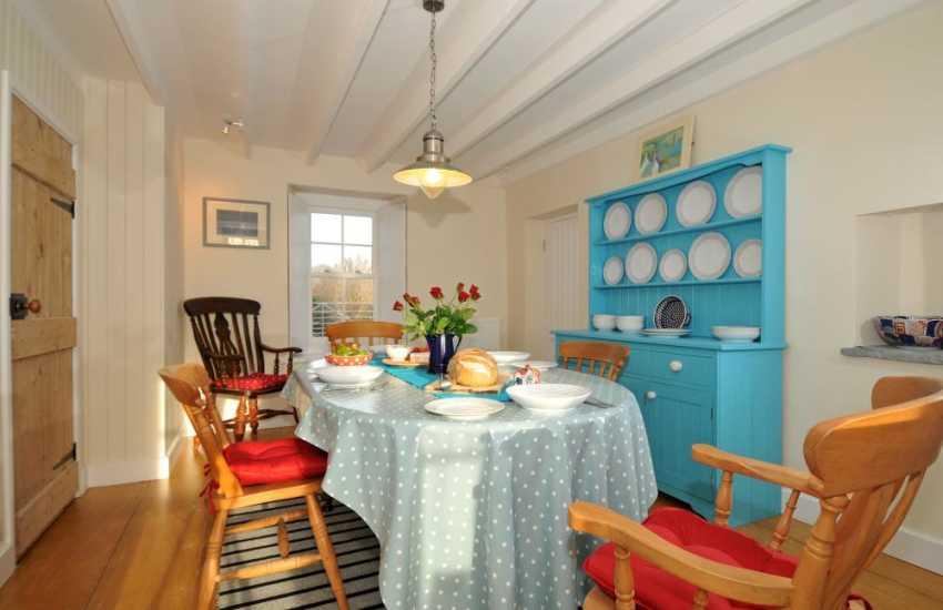 Holiday cottage St Davids - dining
