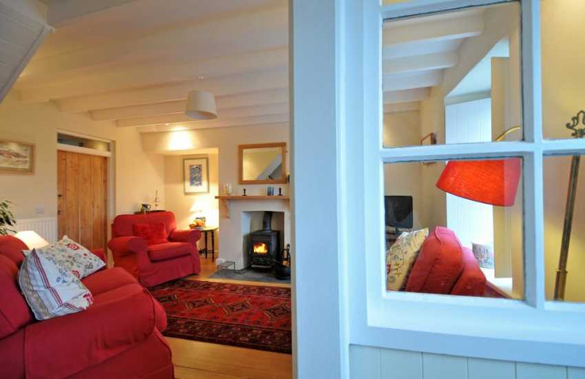 Pembrokeshire luxury holiday cottage - lounge
