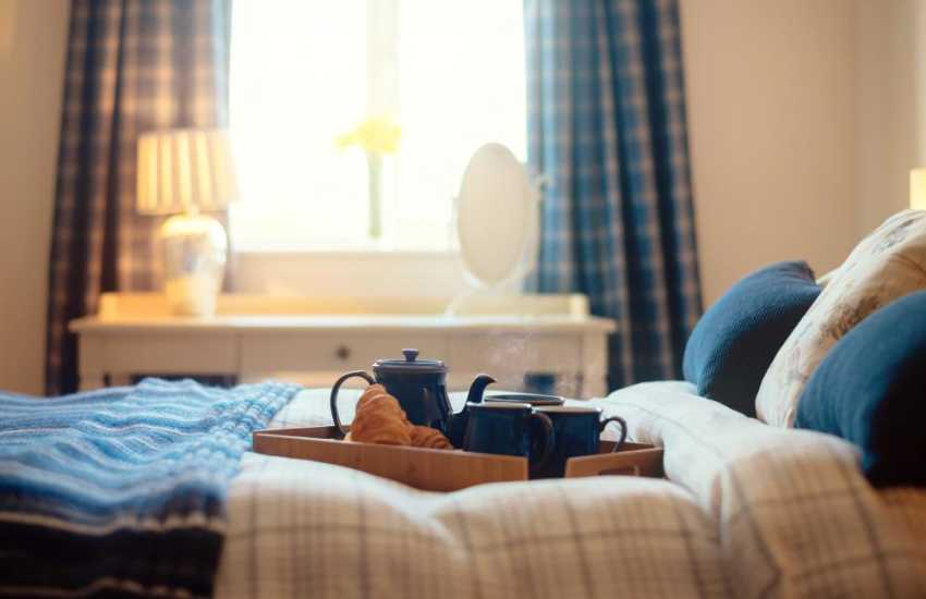 Llansteffan cottage holiday-bedroom