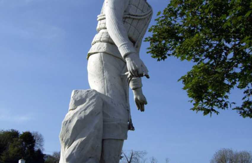 Port Eynon coastguard memorial
