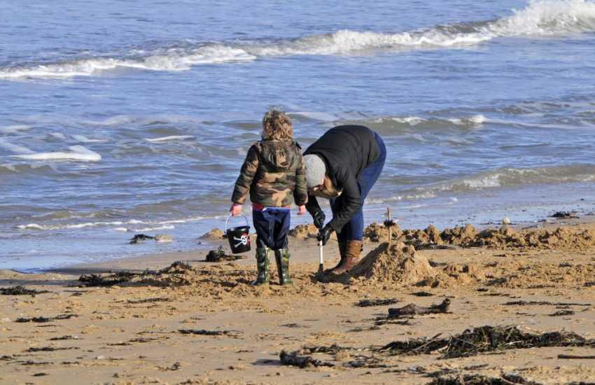 Benllech beach for family fun all year round