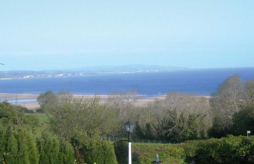 Holiday cottage with spectacular views across Red Wharf Bay and sea