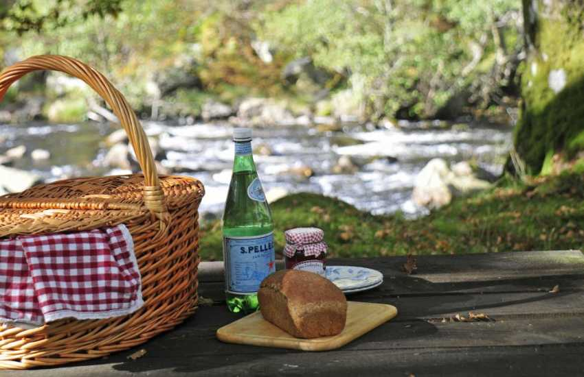 Take a picnic and enjoy a walk by the river