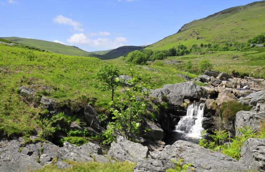 Picture perfect Elan Valley landscapes near Rhayader