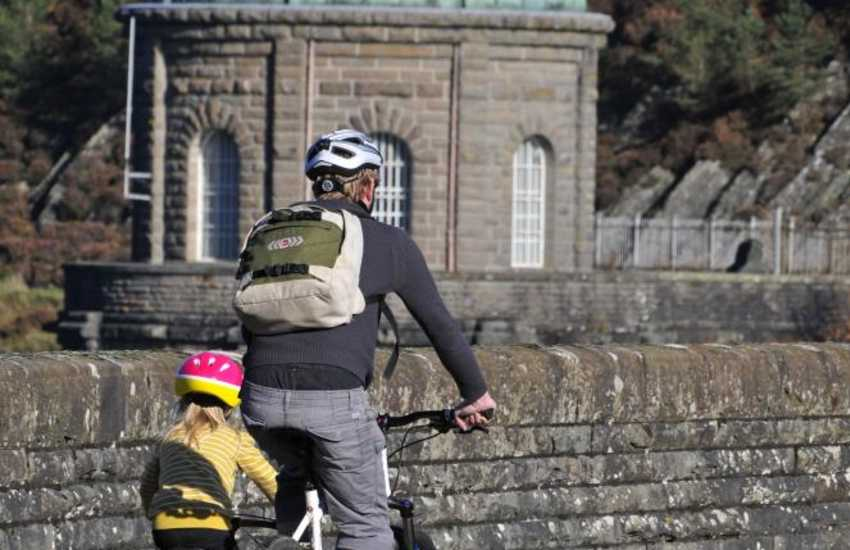 Cycling in the Elan Valley