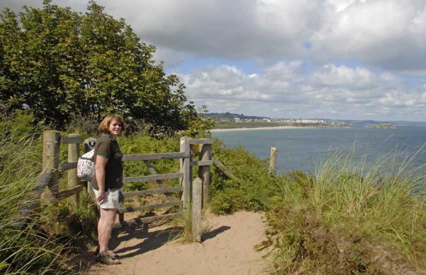 Walk the Pembrokeshire Coast Path for unrivalled cliff top scenery and stunning wildlife