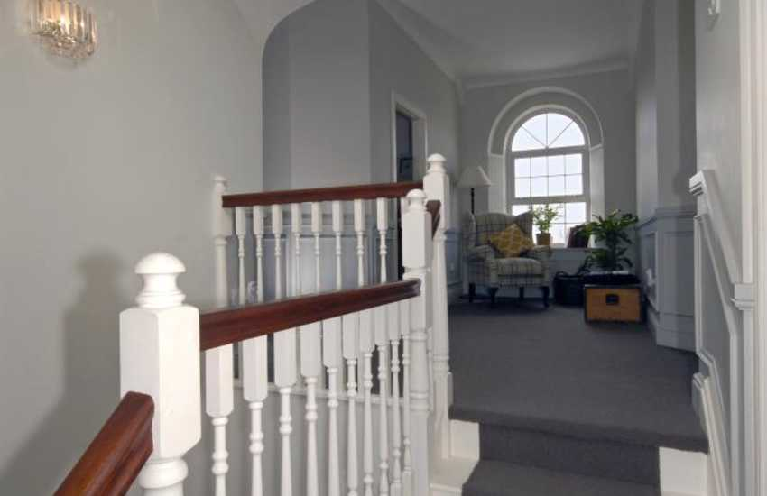 Large holiday home near Tenby - landing
