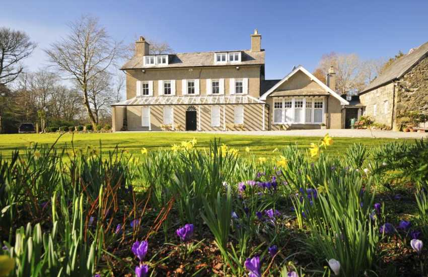 Luxury holiday house  Criccieth - exterior