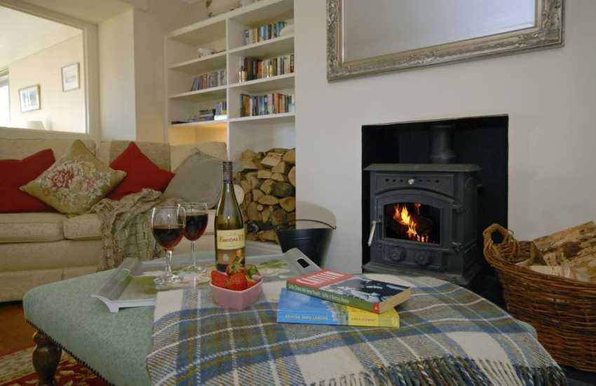 Pembrokeshire home for relaxing holidays by the cosy log burning stove