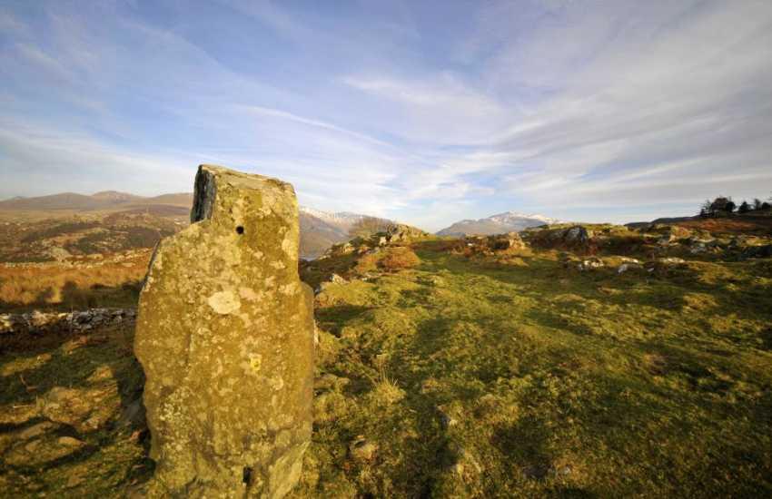Wild and rugged Snowdonia