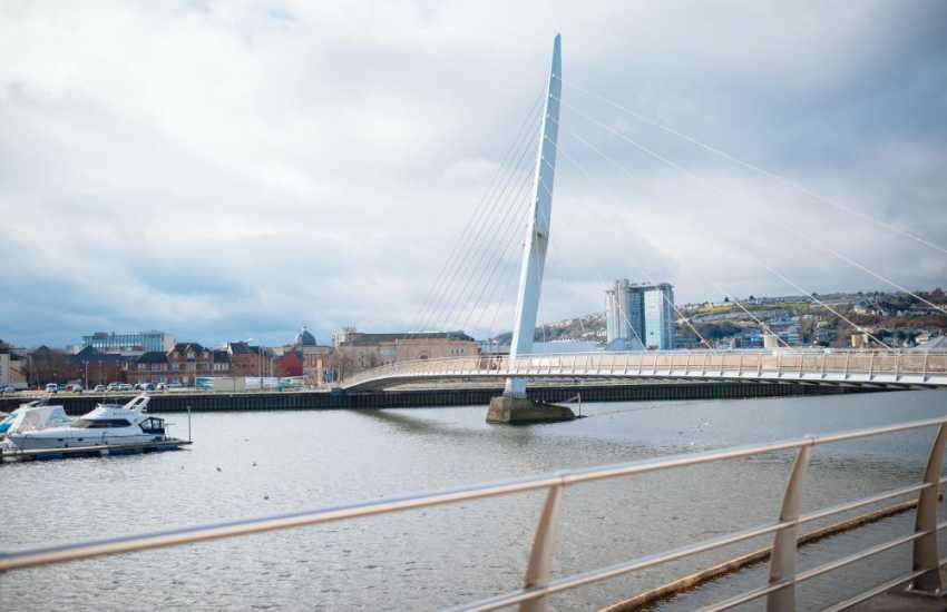 There is plenty more to discover over The Sail Bridge just 2 minutes away