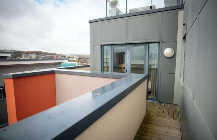 Gower for holidays in Wales penthouse apartment sleeps 4