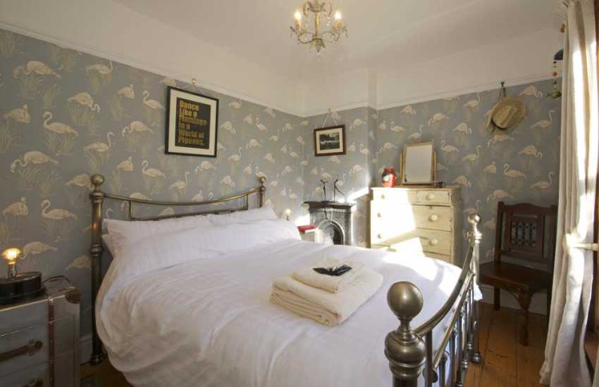 Aberystwyth holiday cottage - bedroom