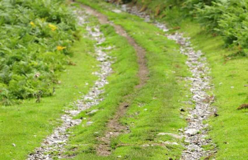 Footpaths near Corwen