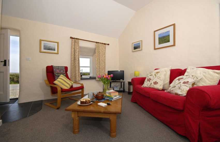 Whitesands Bay holiday cottage - sitting room