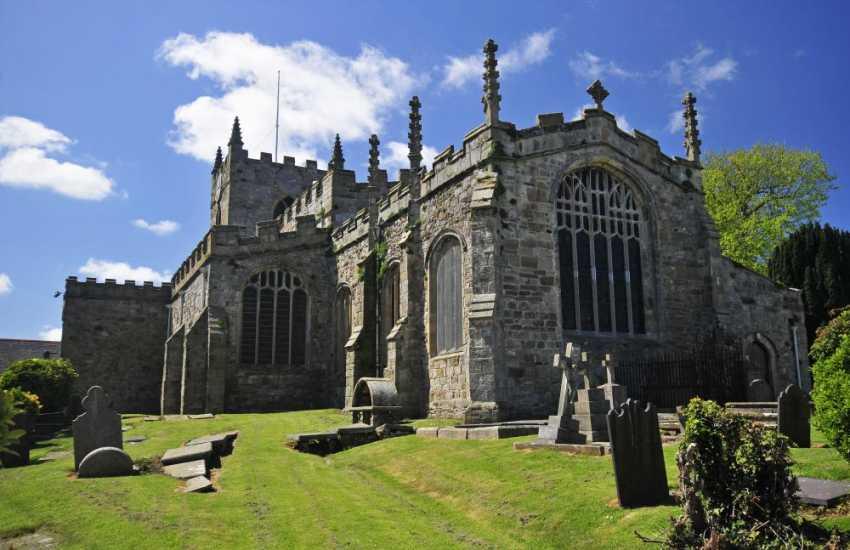 Beaumaris' Grade 1 listed Church of St Mary's & St Nicholas's