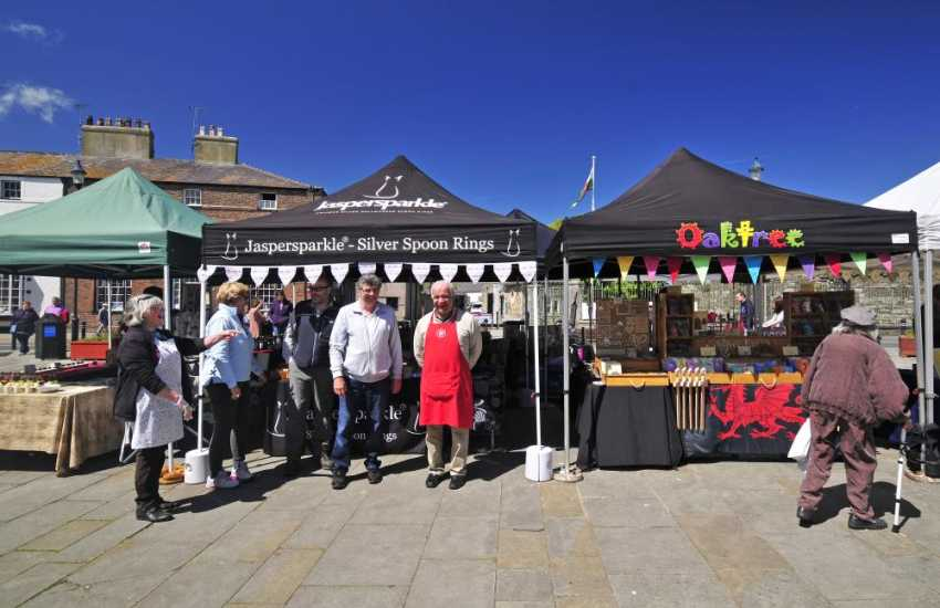 Artisans in Beaumaris Market Square
